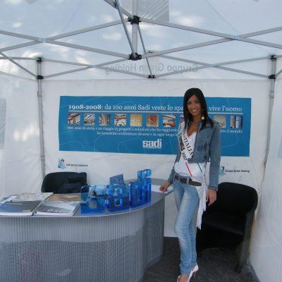 Sadi Servizi Industriali - Stand alla Settimana Ciclistica Lombarda