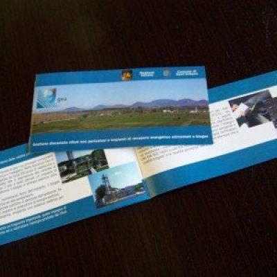 Brochure realizzata per la società Gea