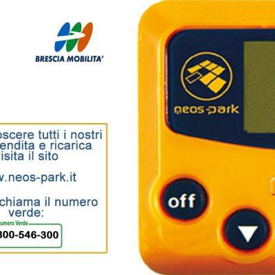 """Neos Park - Biglietto pieghevole """"Brescia Mobilità"""""""