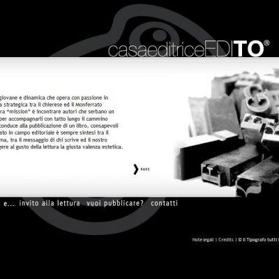 Casa Editrice EdiTO - Sito Web - Pagina interna