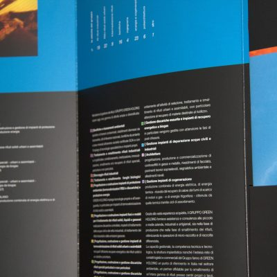 Brochure istituzionale Gruppo Green Holding