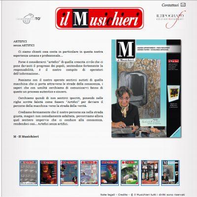 IL Musichieri - Sito Web