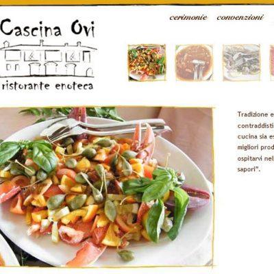 Ristorante Cascina Ovi - Sito Web - Pagina Interna